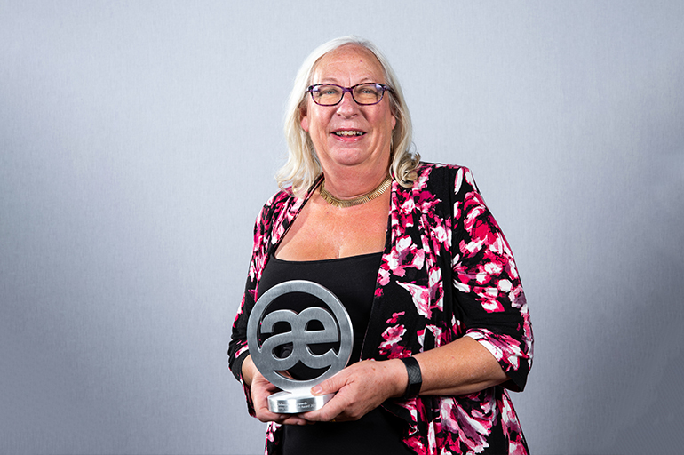 Rebecca Benneyworth, 2019 WINNER –  The Outstanding Contribution Award