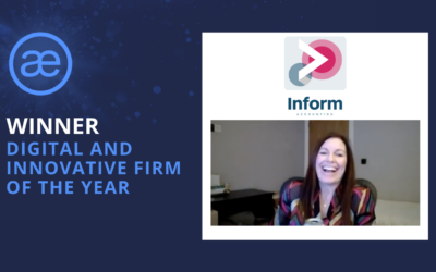 Inform Accounting Ltd – 2020 WINNER – Digital and Innovative Firm of the Year and Client Service Award