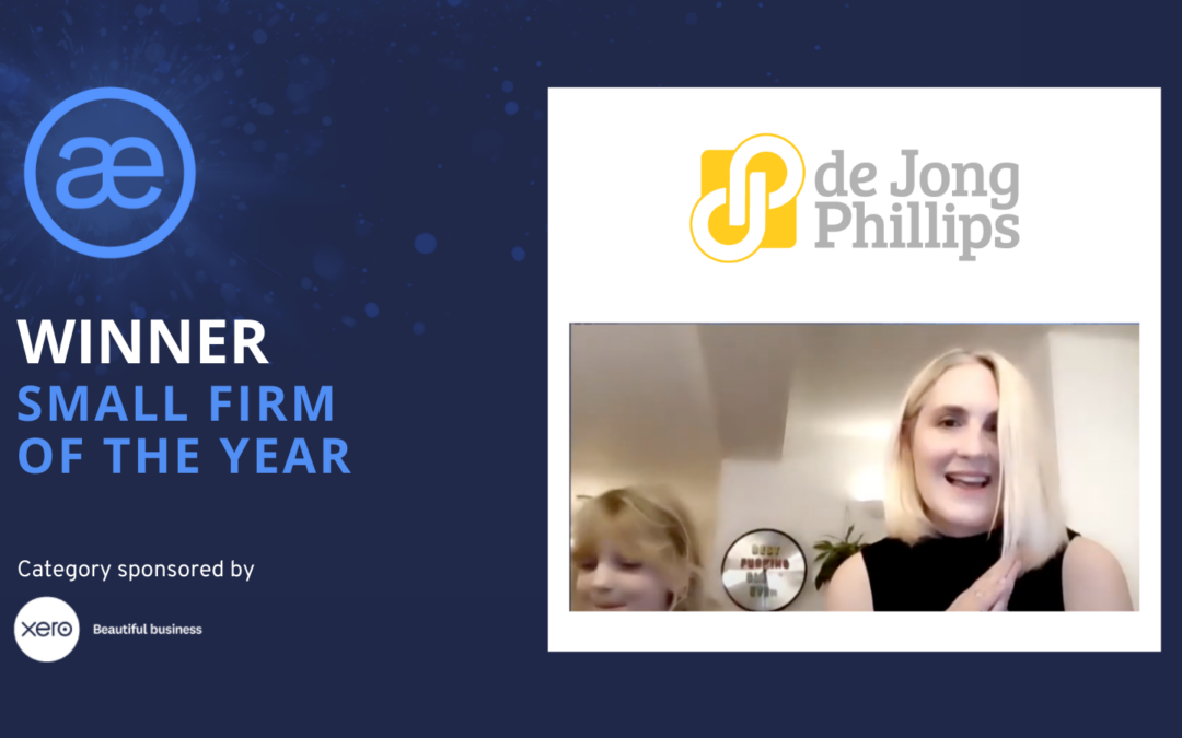 de Jong Phillips – 2020 WINNER – Small Firm of the Year