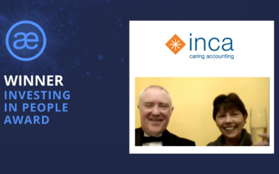 Inca Caring Accountants – 2020 WINNER – Investing in People Award of the Year