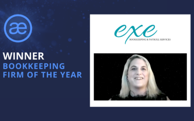 Exe Bookkeeping and Payroll Services – 2020 WINNER – Bookkeeping Firm of the Year