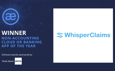 WhisperClaims – 2020 WINNER – Non-accounting Cloud or Banking App of the Year