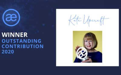 Kate Upcraft – 2020 WINNER – Outstanding Contribution Award