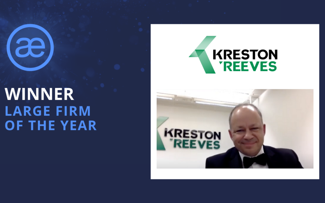 Kreston Reeves – 2020 WINNER – Large Firm of the Year